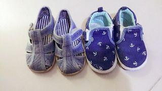 pack 2 zapatillas de bebes 9meses a 16 meses