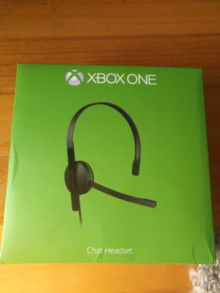 auriculares chat xbox one