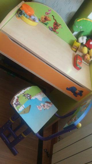 escritorio niño