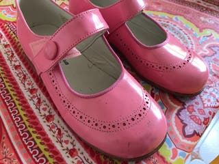 Zapato 27 rosa niña Pili Carrera