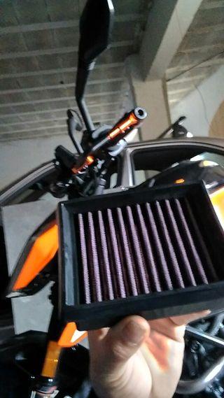 filtro de alto rendimiento