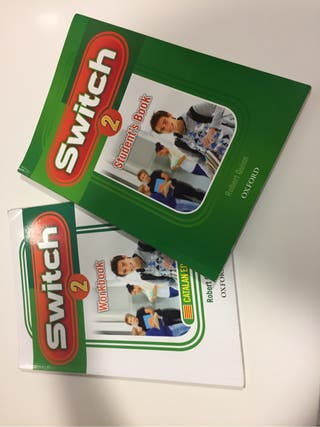 Libros ingles switch