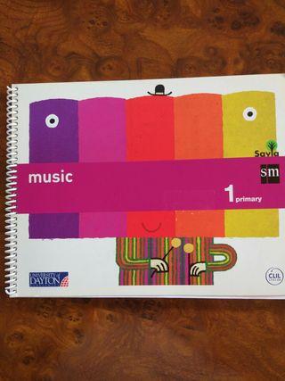 Libro de música primero de primaria en inglés