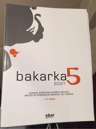 Libro nuevo de Bakarka 5