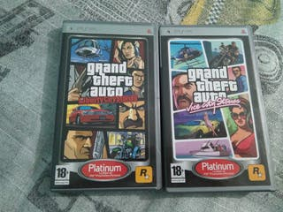 GTA: Vice City & GTA: Liberty City para PSP