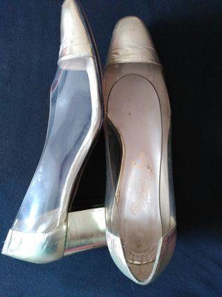 6606fbe7 De En Mano Mujer Segunda Transparentes 38 7 Madrid Zapatos T € Por wnCqIBw7
