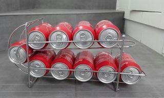 dispensador, apilador para latas