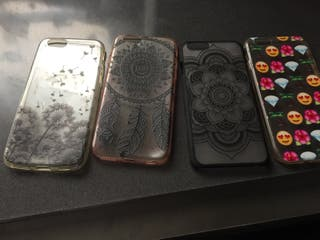 4 Fundas iphone 6/6s