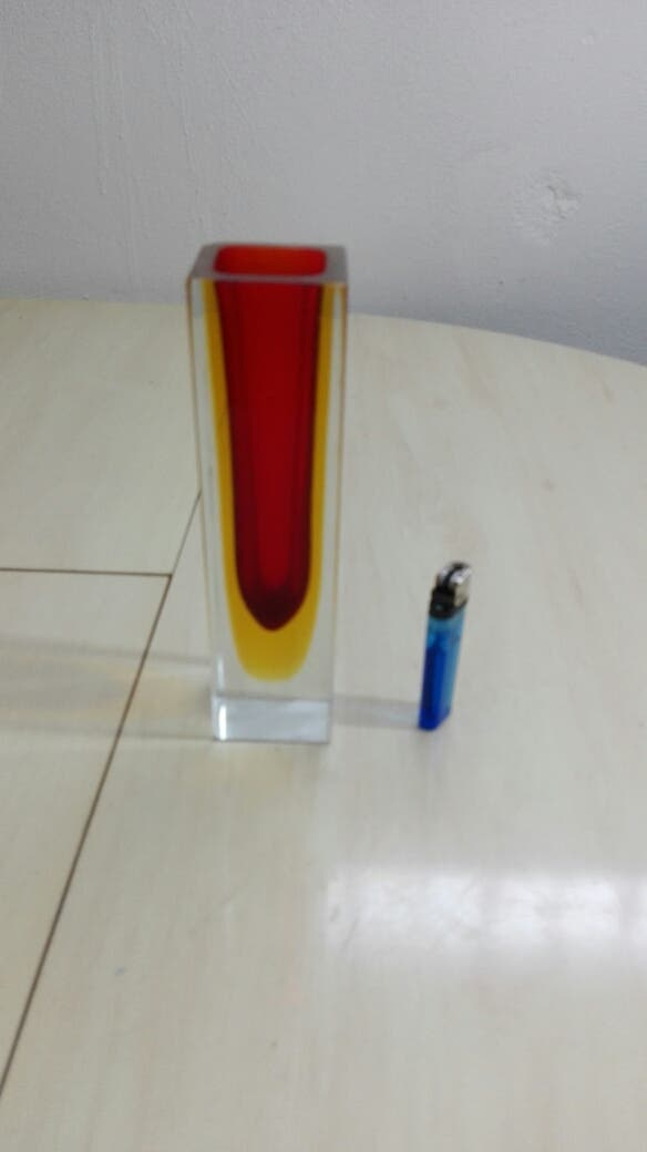 Florero cristal murano