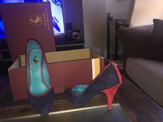 Zapatos mujer num 36 pero dan un 37