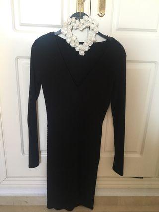 Vestido ajustado asimetrico