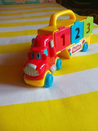 Camion juguete portacoches