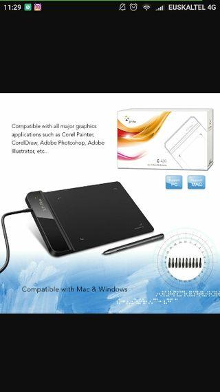 tableta dibujo y control del pc
