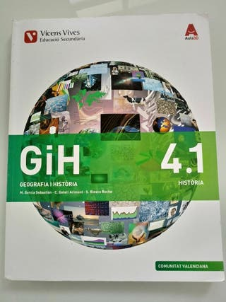 Libro Geografia i Història 4 ESO