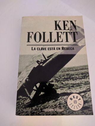 """Libro de KENT FOLLETT """"La clave está en Rebeca"""""""