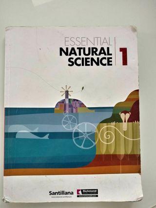 Essential Natural Science 1ESO, Santillana