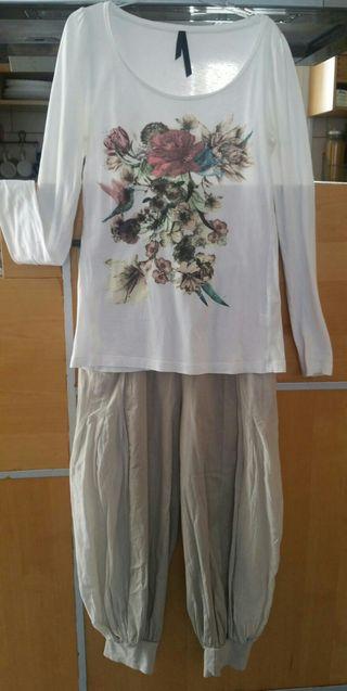 Conjunto Camiseta y Pantalón T.14/16 o S