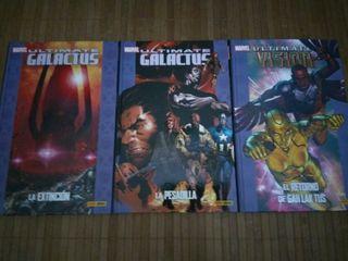 Ultimate Galactus (Trilogía) + Ultimate Visión