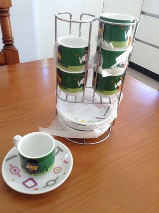 Juego De Tazas De Cafe Expreso