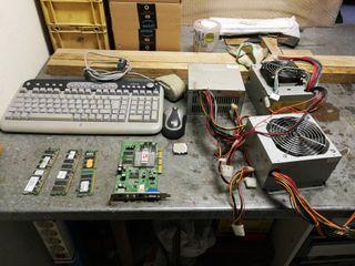 Varios componentes PC