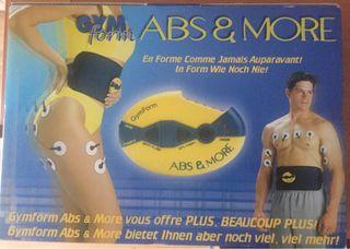 Gym Form cinturón abdominales
