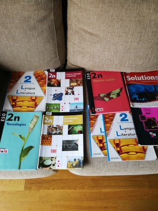 LIBROS 2 ESO Y LIBROS 3 ESO PREGUNTAR PRECIO