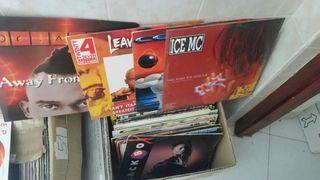 lote discos vinilo dance 90s