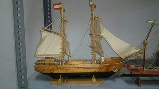 barcos miniatura coleccionista