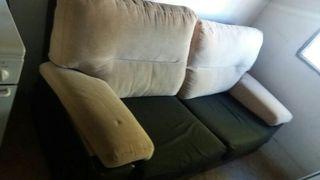 Sofa y sillon mecedora