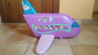 Avión polly pocket