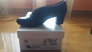 Zapatos mujer Hispanitas negro n 37.