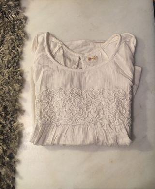 Camisa Blanca Hollister