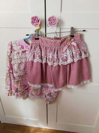 Falda y camisa Petite Amelie
