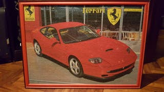 Puzzles cuadro Ferrari 550 Maranello.