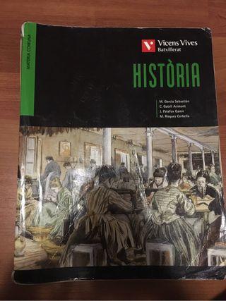 Libro de texto Historia 2do Bachillerato