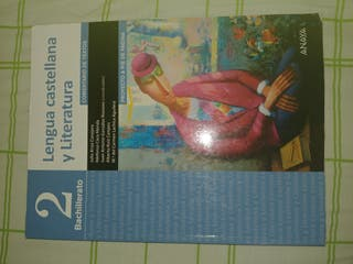libro lengua 2 bachillerato