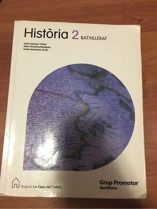 Libro de Historia 2do de Bachillerato