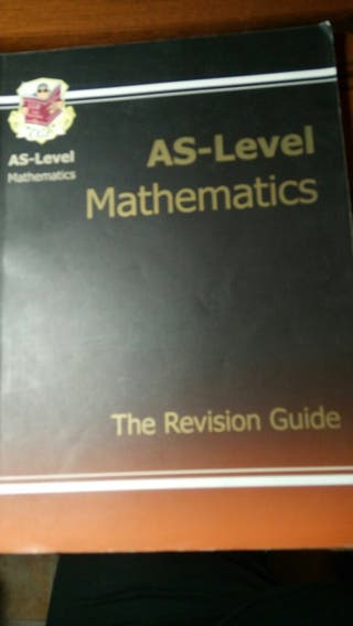 As level mathematics revision guide