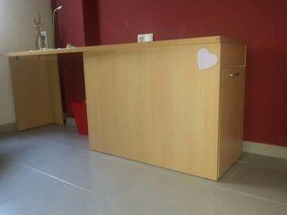 escritorio con cajon