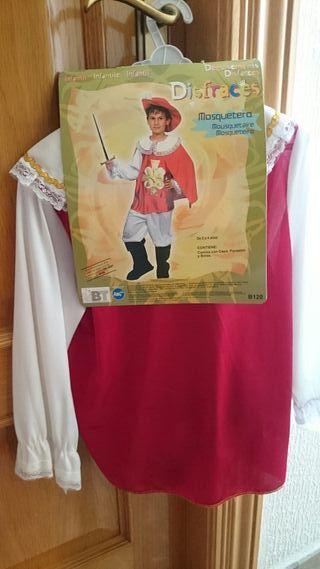 Disfraz de mosquetero Talla 2-4 años