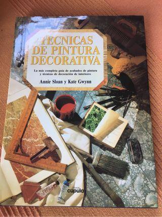 Libro de pintura decorativa