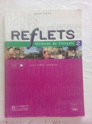 """Libro de Francés """"Reflets Méthode de français 2"""""""