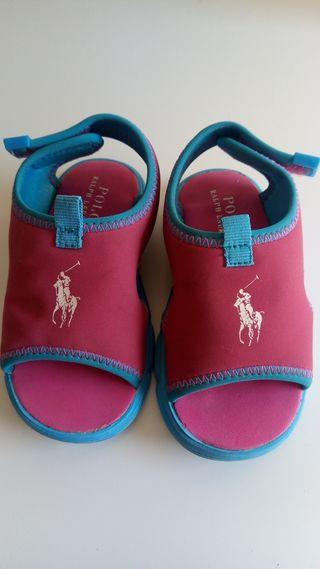 Zapatillas Ralph Lauren bebe