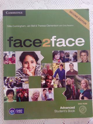 """Libro de inglés """"face2face"""""""