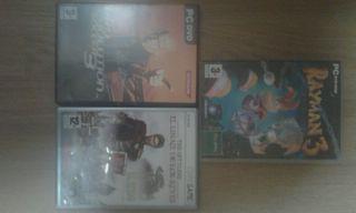 3 juegos para el PC