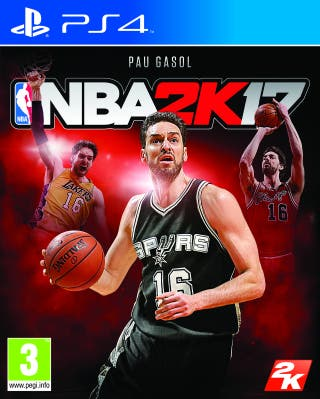 NBA 2 K 17
