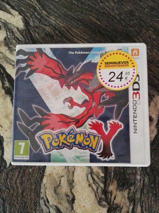 «Pokemon Y» de Nintendo, perfecto estado.