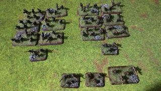 Miniaturas 15mm pintadas para Flames of War