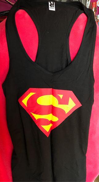 Superman 15 Camiseta Por Tirantes En Mano De € Segunda Hombre DI9WEH2