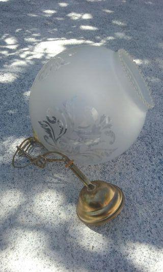 lampara redonda